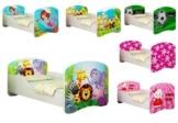 Clamaro 'Traumland' Motiv Kinderbett Komplett Set mit Rausfallschutz
