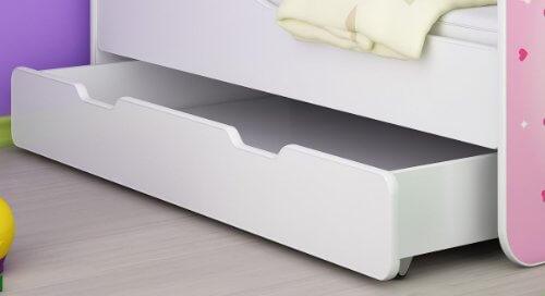 clamaro 39 traumland 39 motiv kinderbett komplett set mit rausfallschutz prinzessin. Black Bedroom Furniture Sets. Home Design Ideas