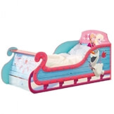 Disney Frozen Sleigh Carriage Toddler Bed Eiskönigin Schlitten Bett Prinzessinnen
