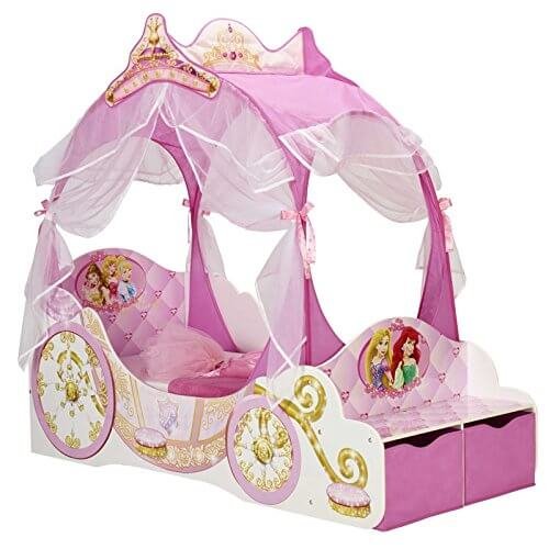 Disney Princess Carriage Kleinkind Bett + Voll Gefederte