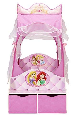 Disney Princess Kutsche Bett für Kleinkinder mit Aufbewahrungsschublade