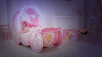 Prinzessin bett beleuchtet