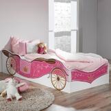 Kinderbett Kutschenbett Bettliege Prinzessinenbett
