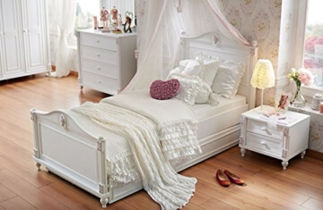 m dchen bett engel prinzessin 7 jahre garantie im. Black Bedroom Furniture Sets. Home Design Ideas