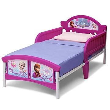 Prinzessin Bett mit 3D mit Motivauswahl (Frozen)