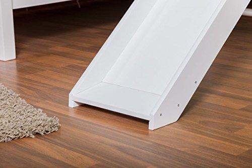 prinzessin etagenbett buche vollholz wei mit regal und rutsche prinzessin. Black Bedroom Furniture Sets. Home Design Ideas