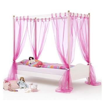 Prinzessin Himmelbett Kinderbett ISABELLA massiv