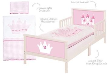 Roba 20330 Toddler Komplettbett Prinzessin Castle