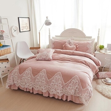 TBQING Gepolsterten Erwachsenen Bett Prinzessin Crystal