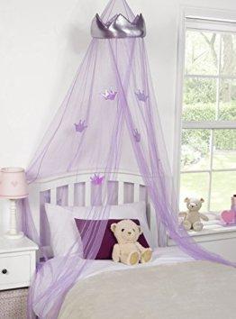 Betthimmel, Prinzessin, Moskitonetz, Kinderschlafzimmer, Lila